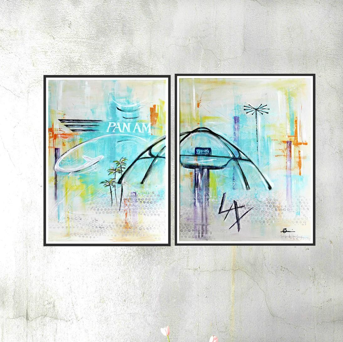 LAX1 & 2 blank wall 1000