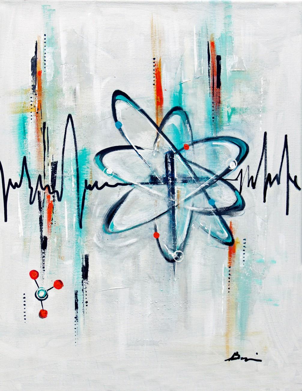 Atom of faith 1000